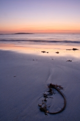 Dusk at Berneray looking towards Boreray II